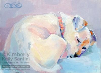 """Emma"" original fine art by Kimberly Santini"