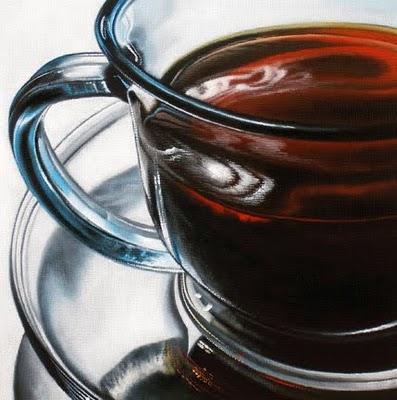 """Coffee Study"" original fine art by Jelaine Faunce"