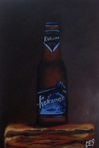 """Kokanee"" original fine art by ~ces~ Christine E. S. Code"