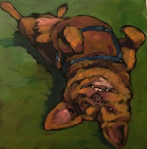 """Dash"" original fine art by Kat Corrigan"