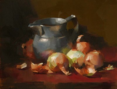 """Spectra of Onions"" original fine art by Qiang Huang"