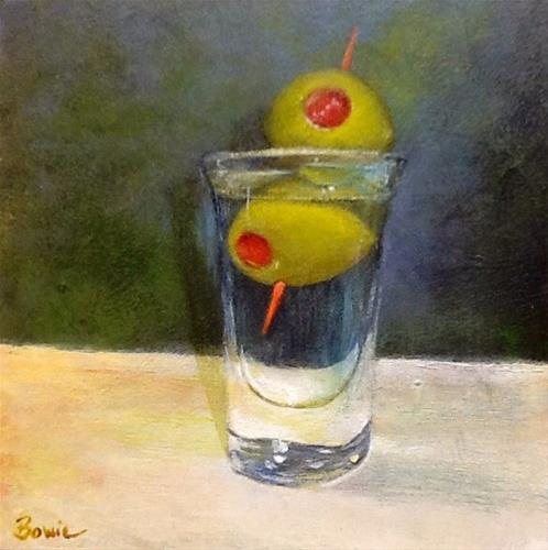"""Dirty Tini"" original fine art by Maureen Bowie"