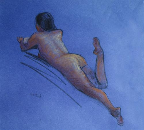 """Kimberley I"" original fine art by Haze Long"