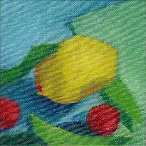 """Lemon and Friends"" original fine art by J M Needham"