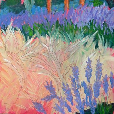 """""""Sarris Garden #7"""" original fine art by Pam Van Londen"""
