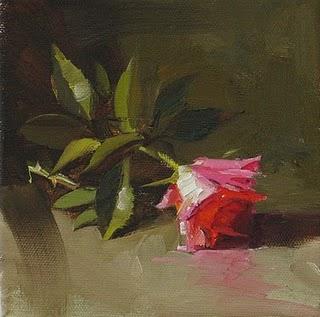 """Injured Beauty"" original fine art by Qiang Huang"