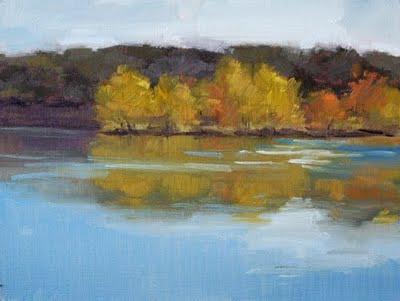 """""""Golden Splendor"""" original fine art by Laurel Daniel"""