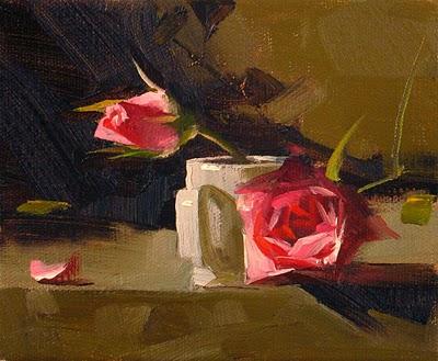 """Gentleness Sold"" original fine art by Qiang Huang"