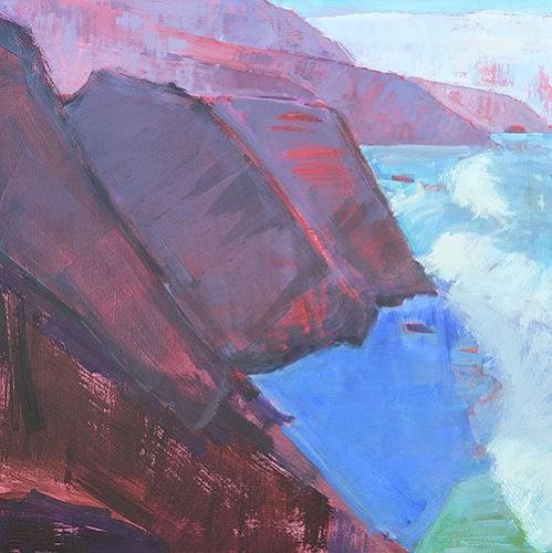 """Big Sur, California"" original fine art by Kevin Inman"