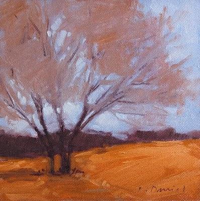 """Branches Bare"" original fine art by Laurel Daniel"