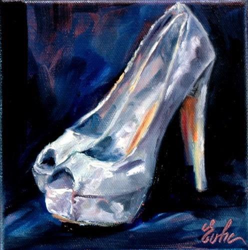 """Repartir du bon pied"" original fine art by Evelyne Heimburger Evhe"