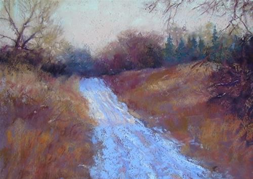 """Snowy River Road"" original fine art by Trish Stevenson"