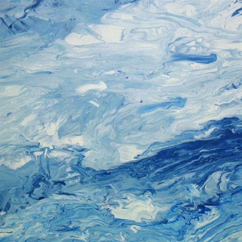 """""""10 - Air"""" original fine art by Olga Touboltseva-Lefort"""