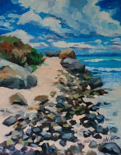 """""""Caribbean Day"""" original fine art by Mary Anne Cary"""