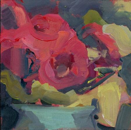 """""""1331 Unsquare Dance"""" original fine art by Lisa Daria"""