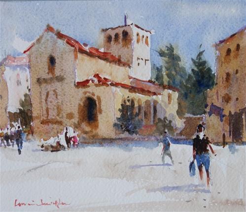 """Spanish Light"" original fine art by Lorraine Lewitzka"