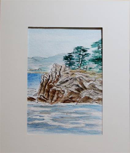 """Whalers Cove"" original fine art by Mary Datum"