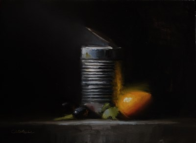 """Tin and Clementine"" original fine art by Neil Carroll"