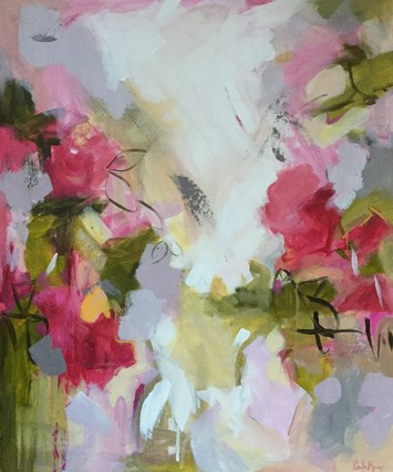 """""""Flaunt"""" original fine art by Pamela Munger"""