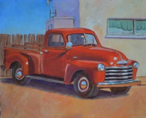 """All Polished Up"" original fine art by Robert Frankis"