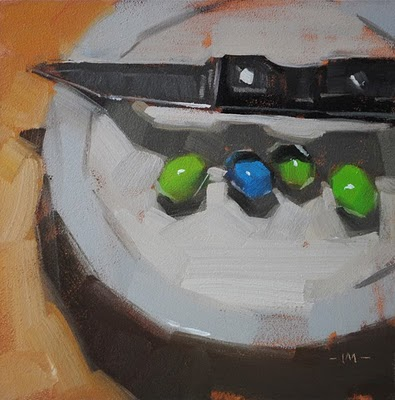 """Danger Overhead"" original fine art by Carol Marine"