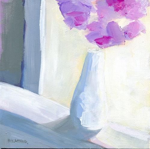 """""""In The Hall"""" original fine art by Heather Bennett"""