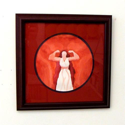 """""""Gorgo - Queen of the Spartians"""" original fine art by Bonnie Fillenwarth"""