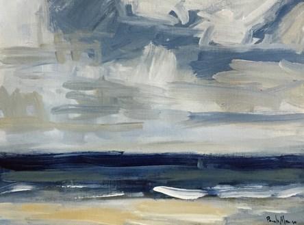 """""""December Beach"""" original fine art by Pamela Munger"""