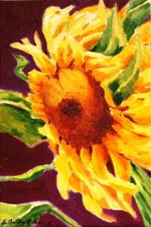 """""""Sunzilla"""" original fine art by JoAnne Perez Robinson"""