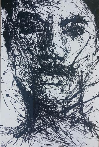 """Freefall"" original fine art by Rentia Coetzee"
