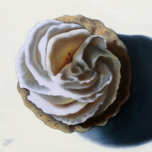"""Banana Cream Tart Study"" original fine art by Jelaine Faunce"