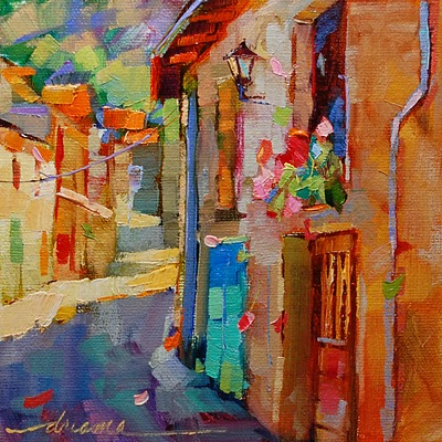 """Color Notes of France"" original fine art by Dreama Tolle Perry"