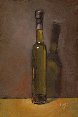 """Seasoned Olive Oil"" original fine art by Raymond Logan"