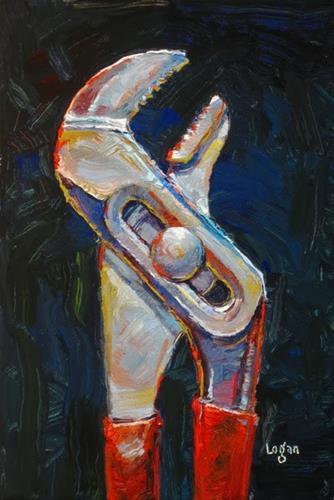 """Channel Locks"" original fine art by Raymond Logan"