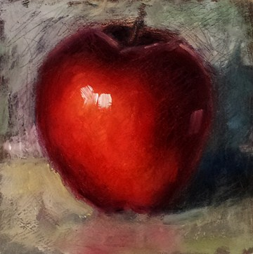 """The Apple that Would Not Die"" original fine art by Cindy Haase"