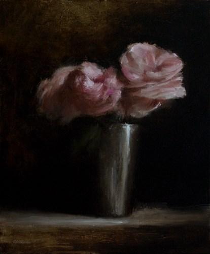 """Roses"" original fine art by Neil Carroll"
