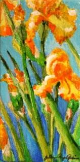 """Mellow Yellow"" original fine art by JoAnne Perez Robinson"