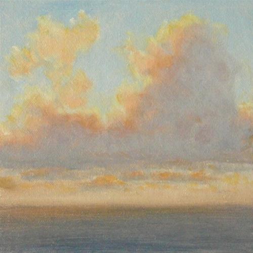 """Morning Glory"" original fine art by Susan Matteson"