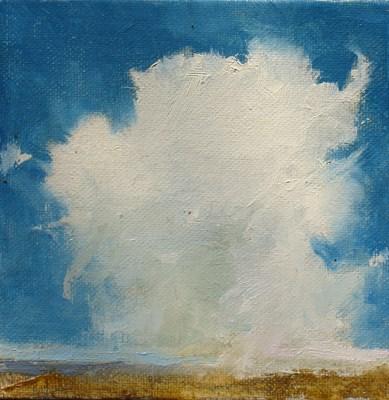 """CLOUD II"" original fine art by Susan Hammer"