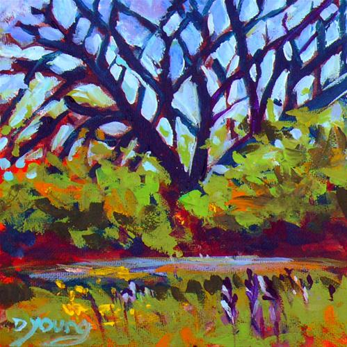 """Holland Point Tree"" original fine art by Darlene Young"