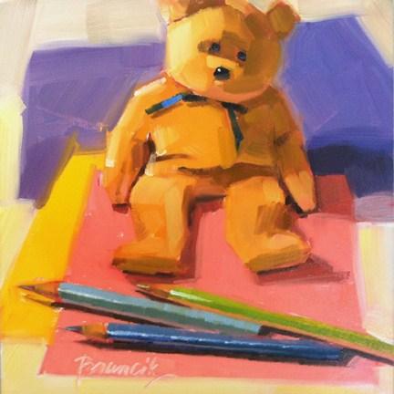 """Playtime"" original fine art by Candace Brancik"