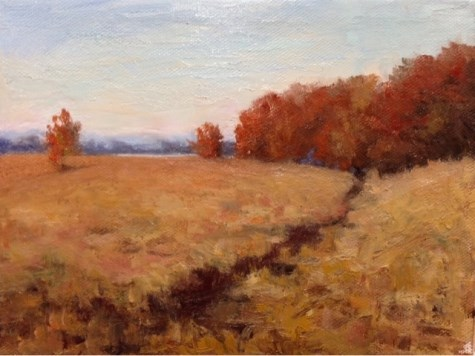 """Late Autumn"" original fine art by Judith Anderson"