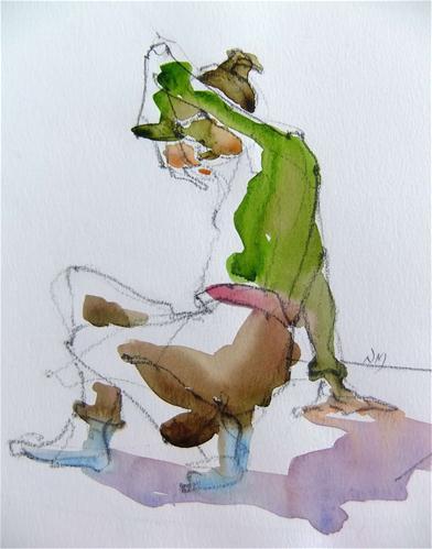 """""""Adrianna 2"""" original fine art by Nora MacPhail"""
