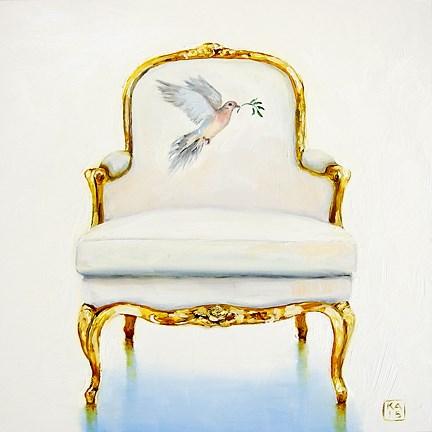 """peace"" original fine art by Kimberly Applegate"