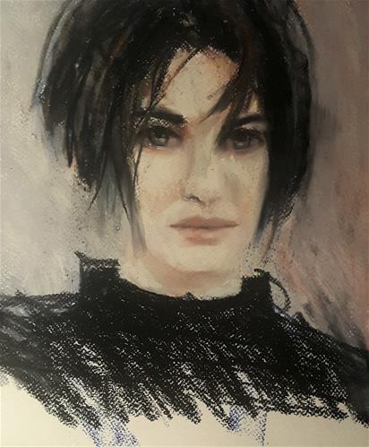 """Bedhead"" original fine art by Rentia Coetzee"