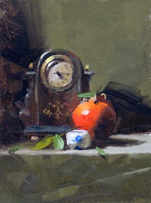 """Old Time --- Sold"" original fine art by Qiang Huang"
