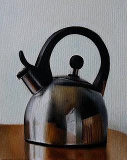 """""""Teapot"""" original fine art by Jonathan Aller"""