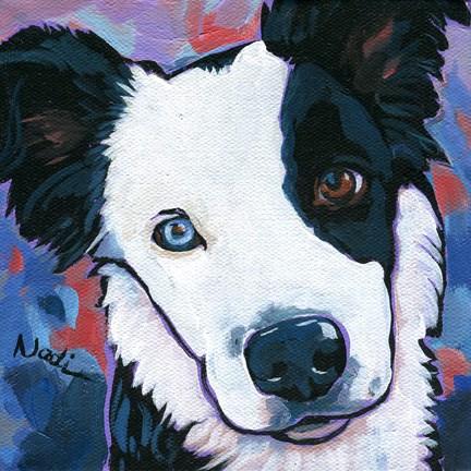 """Jags"" original fine art by Nadi Spencer"