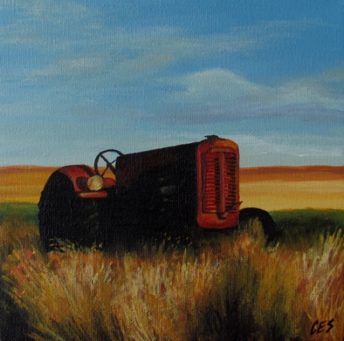 """Old Case"" original fine art by ~ces~ Christine E. S. Code"
