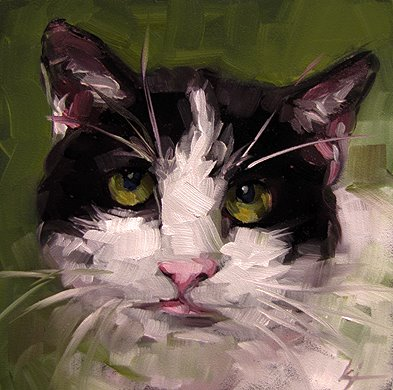 """Jolie"" original fine art by Karin Jurick"